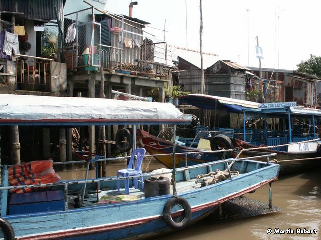 Mekong Delta - Schwimmender Markt