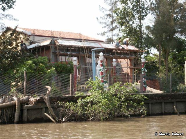 Mekong Delta - Haus am Flussufer